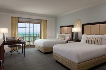 Room, 2 Double Beds, Balcony, Sea View (Coastal View)