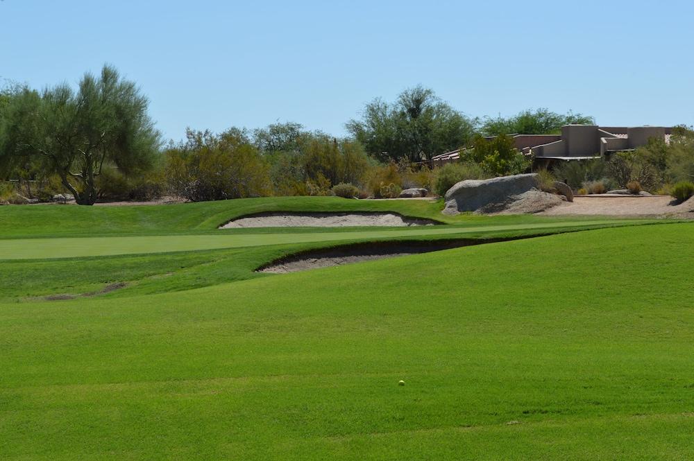 高爾夫球場景觀
