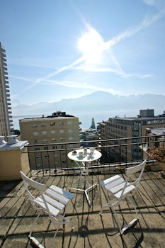 J5 Hotels Helvetie Montreux - View from Hotel  - #0