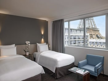 Superior Room, 2 Twin Beds, View, Tower (Eiffel Tower View)