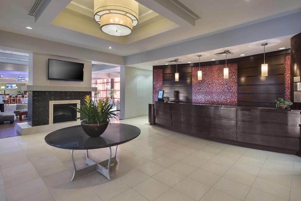 Photo of lobby at Marriott Albany hotel in Albany, New York