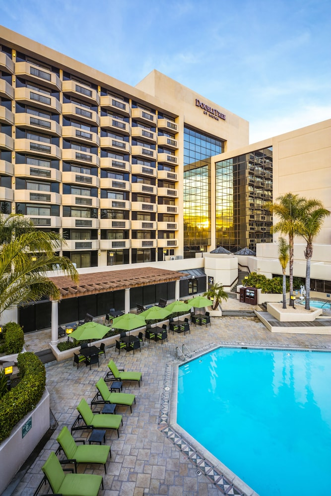 Photo of swimming pool at DoubleTree by Hilton San Jose in San Jose, California