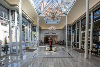 Interior Entrance at The Horton Grand Hotel in San Diego