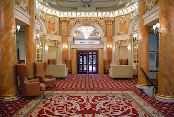 Interior Entrance at Wolcott Hotel in New York