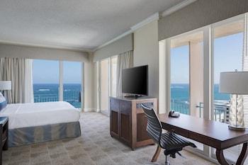 Room, 1 King Bed, Balcony, Corner