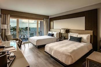 Room, 2 Double Beds, Ocean View (Cabana)
