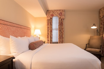 Guestroom at The Henley Park Hotel in Washington