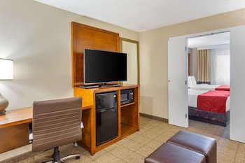Business Suite, 2 Double Beds with Sofa Sleeper