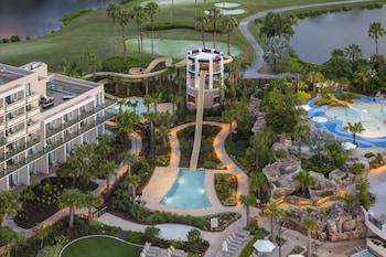 Exterior at Orlando World Center Marriott in Orlando