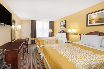Guestroom at Days Inn by Wyndham Mt Pleasant-Charleston-Patriots Point in Mount Pleasant