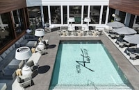 Luxury Suite, 1 King Bed, Balcony, Pool View