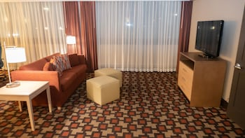 Suite, 1 King Bed, Non Smoking, Kitchenette (Living Room;with Sofabed)