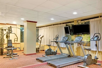 Fitness Facility at Days Inn by Wyndham Towson in Towson