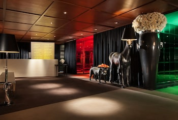 Lobby at SLS Hotel, a Luxury Collection Hotel, Beverly Hills in Los Angeles