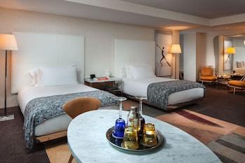 Studio Suite, 2 Double Beds, Non Smoking