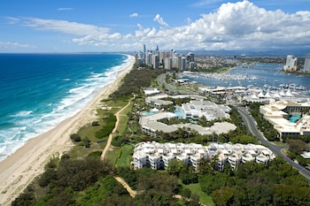 Aerial View at Sheraton Grand Mirage Resort, Gold Coast in Main Beach