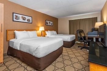 Standard Double Room, 2 Double Beds, Ground Floor