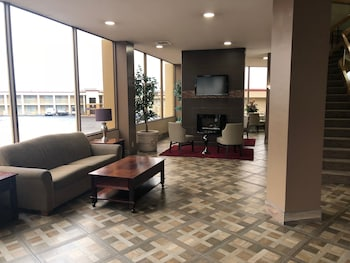 Lobby Sitting Area at Stay Express Hotel Fort Worth in Fort Worth