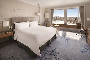 Büyük Yataklı Tek Kişilik Oda, Business Dinlenme Salonu Kullanımı (high Floor)