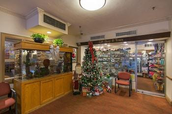 Lobby at Hotel Harrington in Washington