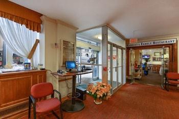 Interior Entrance at Hotel Harrington in Washington