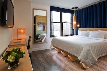 Guestroom at Arthouse Hotel New York City in New York