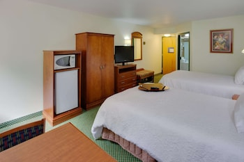 Two double beds non smoking