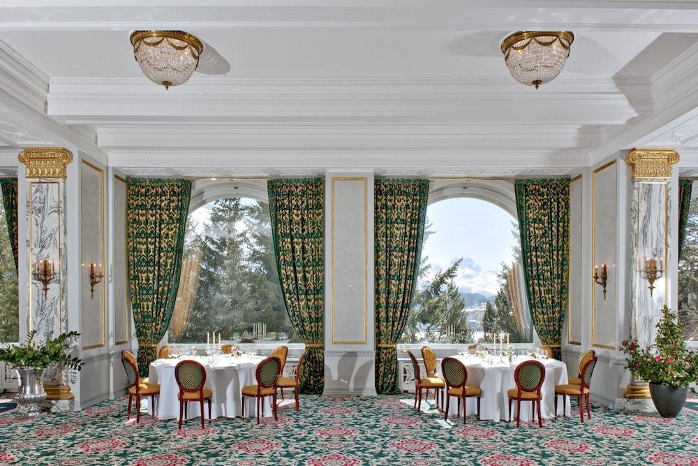 칼튼 호텔 생 모리츠(Carlton Hotel St Moritz) Hotel Image 50 - Banquet Hall
