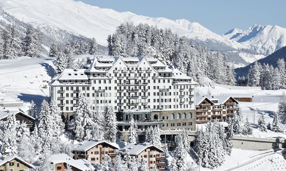 칼튼 호텔 생 모리츠(Carlton Hotel St Moritz) Hotel Image 53 - Aerial View