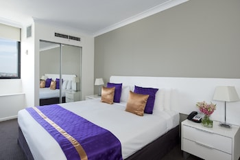 Guestroom at Park Regis North Quay in Brisbane