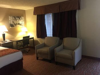 Suite, 1 King Bed, Non Smoking, Refrigerator & Microwave