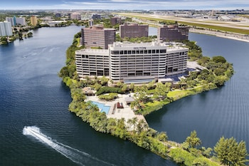 邁阿密機場藍礁湖希爾頓飯店 Hilton Miami Airport Blue Lagoon