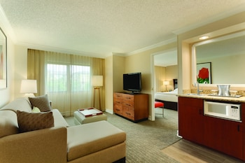 Premium Suite, 1 King Bed, Accessible (Mobility & Hearing, Roll-in Shower)