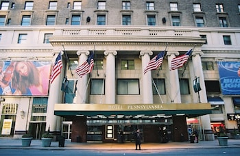 Book Hotel Pennsylvania in New York.