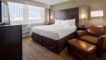 Suite, 1 King Bed, Accessible, Non Smoking (Walk-in Shower;with Sofabed)