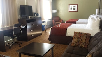 Family Suite, 1 King Bed, Non Smoking, Refrigerator & Microwave
