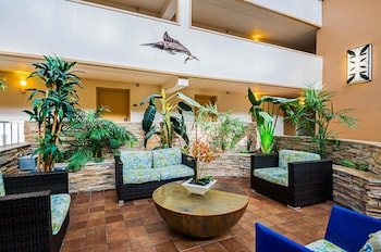Lobby at Quality Inn Oceanfront in Ocean City