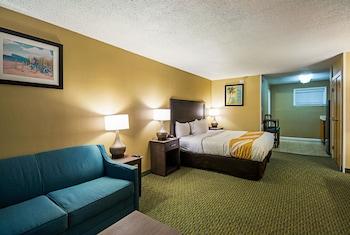 Room, Atrium 1st Floor, 1 King Bed & Sofa, Kitchenette