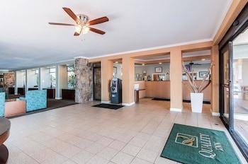 Lobby at Quality Inn Boardwalk in Ocean City