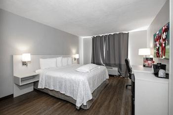 Premium Room, 1 King Bed, Refrigerator & Microwave (Upgraded Bedding, Smoke Free)