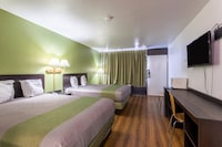Deluxe Room, 2 Queen Beds, Non Smoking, Refrigerator & Microwave (Shower Only)
