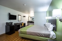 Deluxe Room, 1 King Bed, Non Smoking, Refrigerator & Microwave (Shower Only)