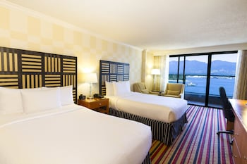 Premium Room, 2 Double Beds, View (Harbour View)