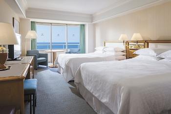 スタンダード ルーム ダブルベッド 2 台|シェラトン・グランデ・トーキョーベイ・ホテル