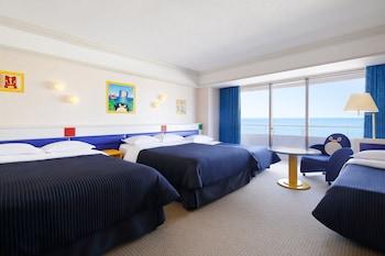 トレジャーズルーム ベッド4台|シェラトン・グランデ・トーキョーベイ・ホテル