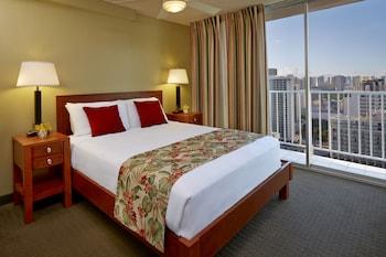 Suite, 1 Bedroom, Partial Ocean View (2 Twin Beds)