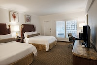 Room, 2 Double Beds, Balcony, Partial Ocean View