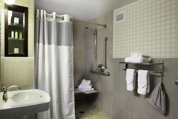 Room, 1 Double Bed, Accessible (Hearing Access Roll in Shower)
