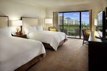 Room, 2 Double Beds, Ocean View (Alii)