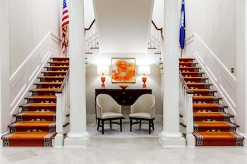 Lobby at The Mills House Wyndham Grand Hotel in Charleston